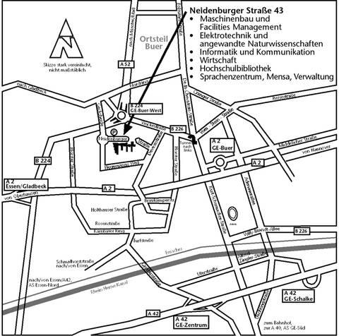 Strassenplan GE