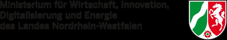 Logo Ministerium für Wirtschaft Innovation Digitalisierung und Energie