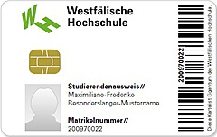 Studierendenausweis der WHS