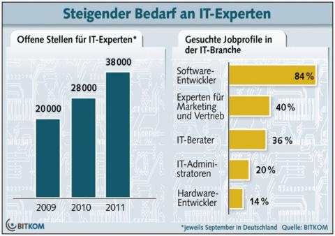 Bedarf IT-Experten