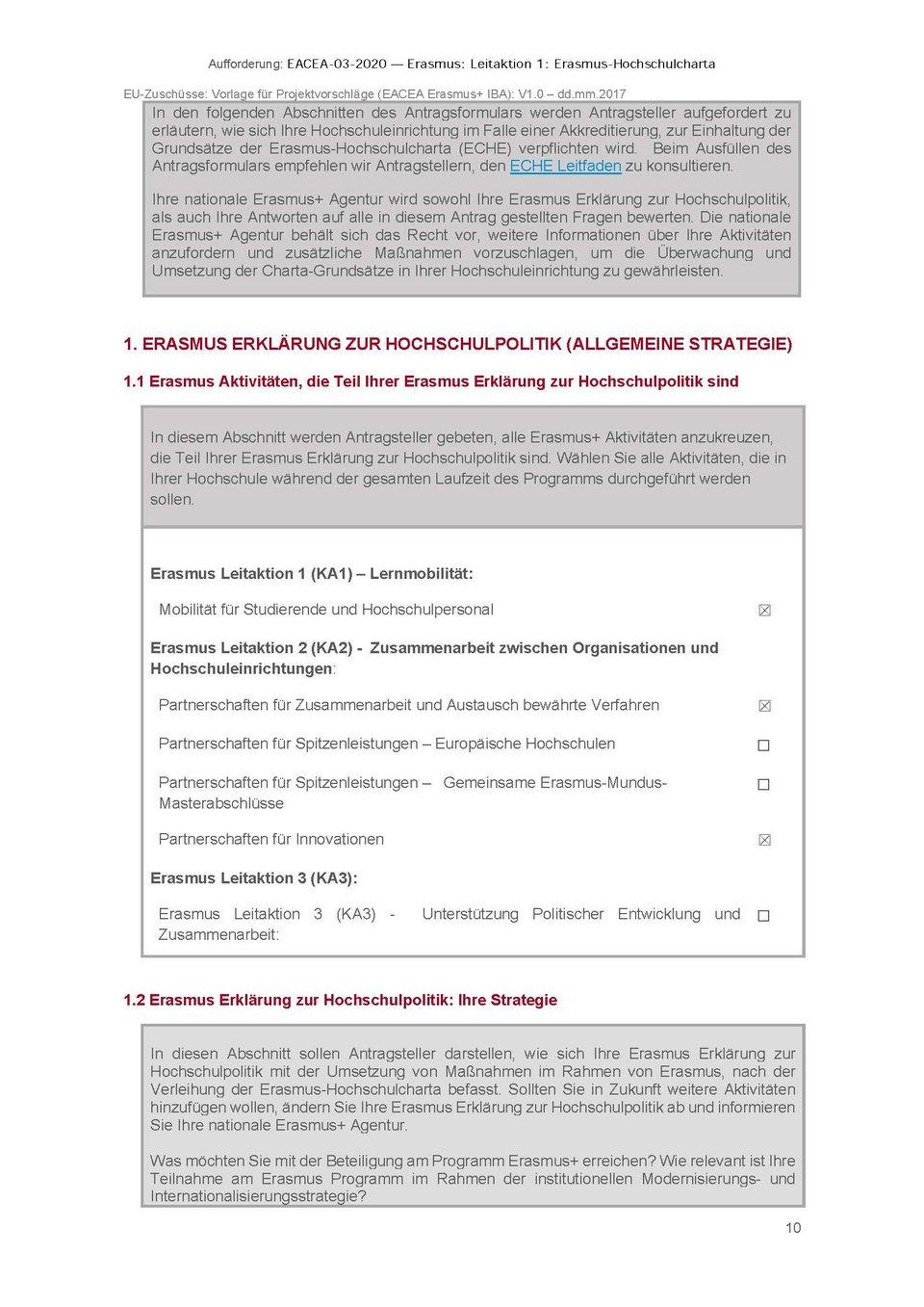Dokument European Policy Statement 2021