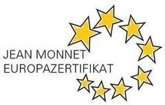 JEAN MONNET EUROPAZERTIFIKAT