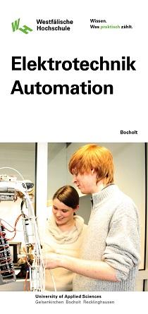 Flyer Elektrotechnik-Automation