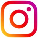 Instagram-Logo in bunt.