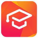 Rötlich-orangenes UniNow-Logo